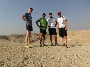 Running at the wadi