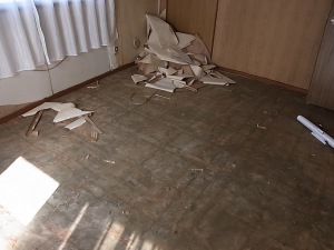 Ripping up the tiles